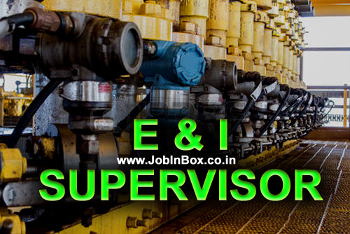 E&I Oil and Gas Shutdown Job Vacancy