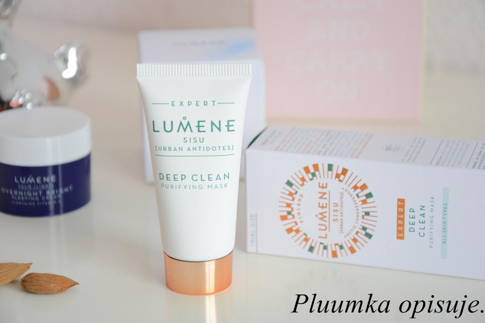 Lumene Sisu Deep Clean Purifying Mask - maseczka oczyszczająco detoksykująca.