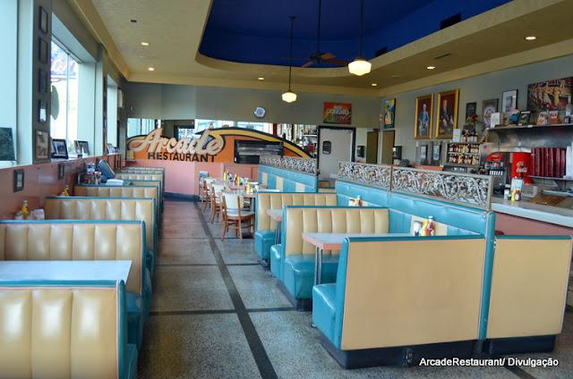 Arcade Restaurant, em Memphis, frequentado por Elvis Presley
