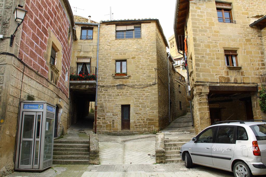 Calles de Ujué, Navarra