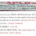 Comunicado da APLB/Sindicato de Mairi