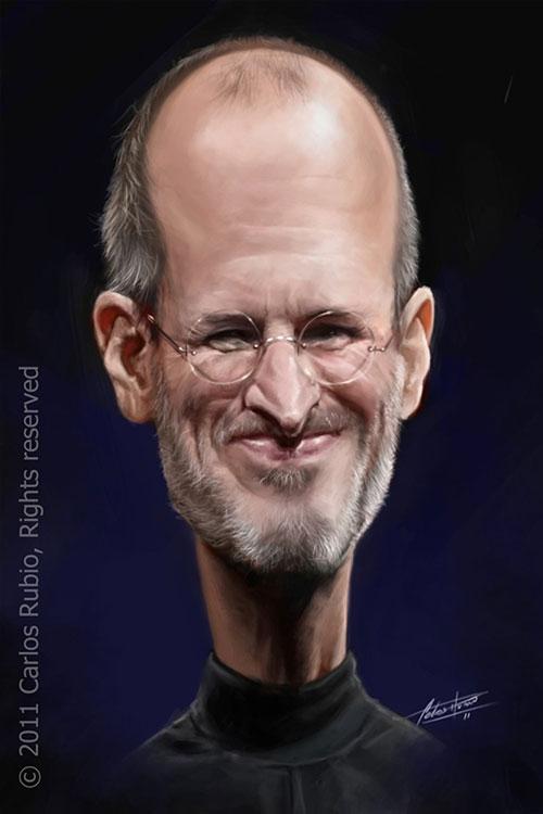 """Steve Jobs"" por Carlos Rubio"