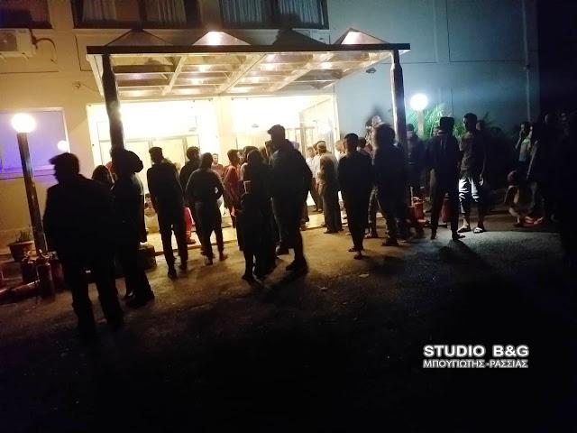 Πυρκαγιά ξέσπασε στο κλιμακοστάσιο  ξενοδοχείου στο Πορτόχελι που φιλοξενεί μετανάστες