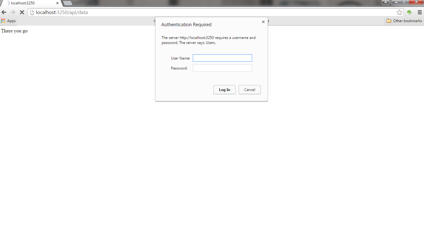 Nodejs REST API Authentication using Passport   Eshwar
