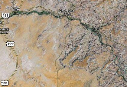 San Juan River Utah Map.Phantoms And Monsters Pulse Of The Paranormal