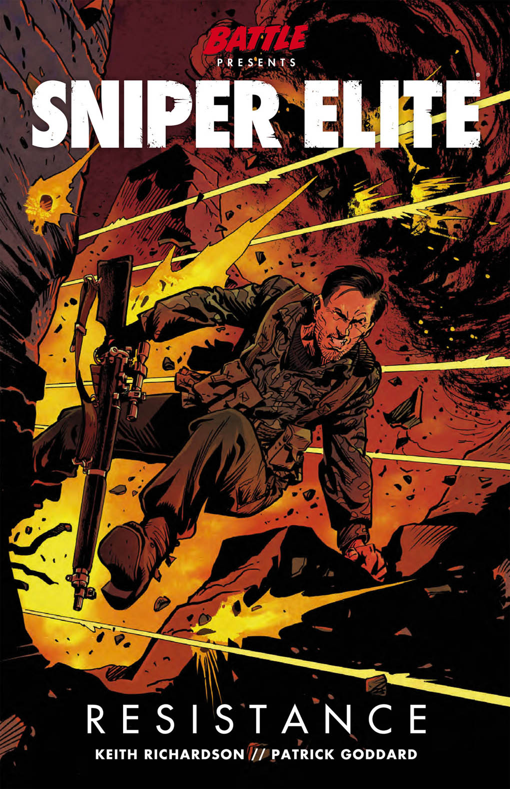 Elite Mini Cabs Epping Out Now Sniper Elite Resistance Graphic Novel News Uk