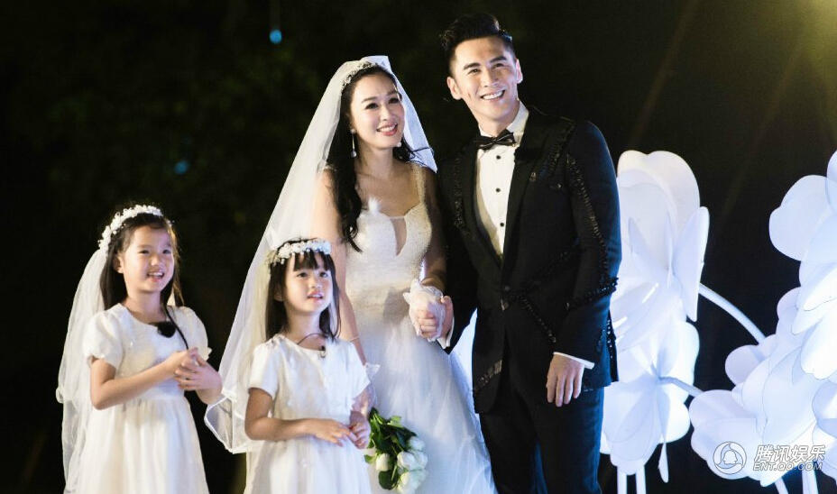 Dramaxstyle Celebrity Weddings Christy Chung Marries Zhang Lun