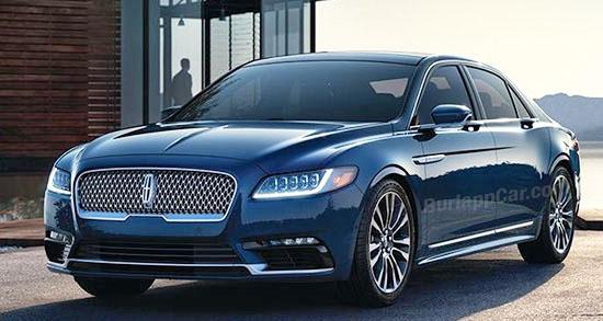 2017 Lincoln Continental Production Vs Concept