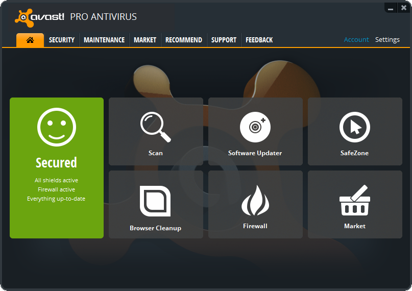 How to update your avast! Antivirus to version 2014.