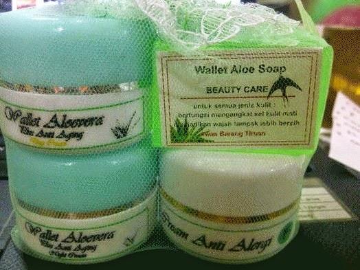 Paket Cream Walet Aloe Vera