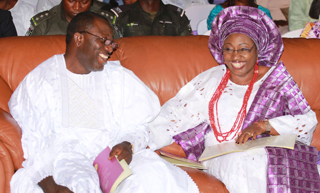 ekiti state governor fayemi wife