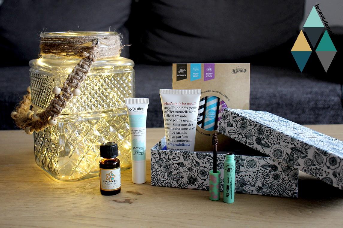 avis et test revue beauté box produits soins