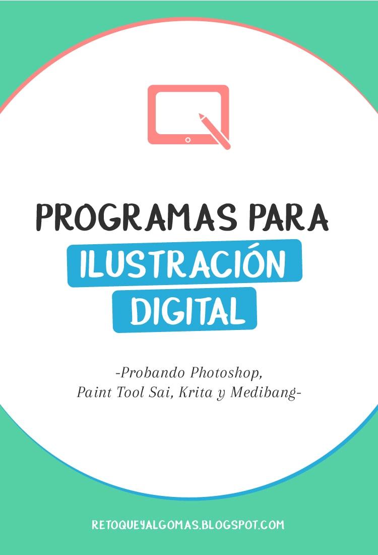Programas para ilustración digital