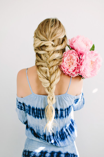 Tutorial: romantic braid | The Dash of Darling