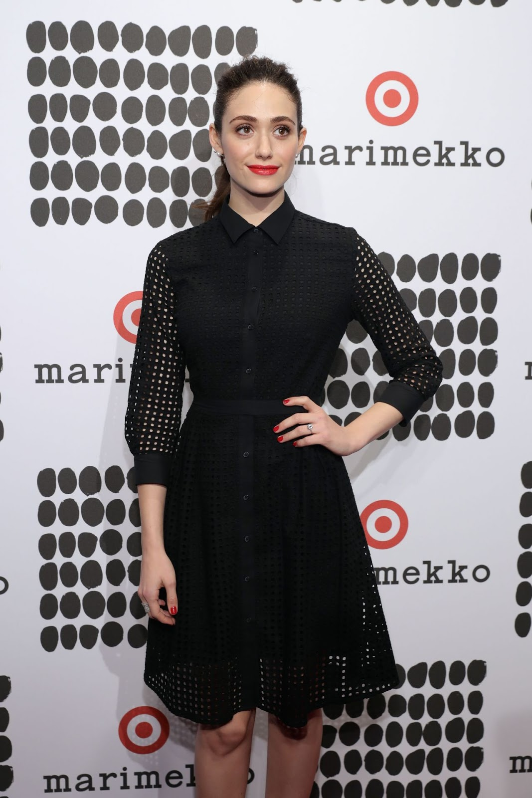 Emmy Rossum Marimekko For Target Launch Celebration in New York City ...