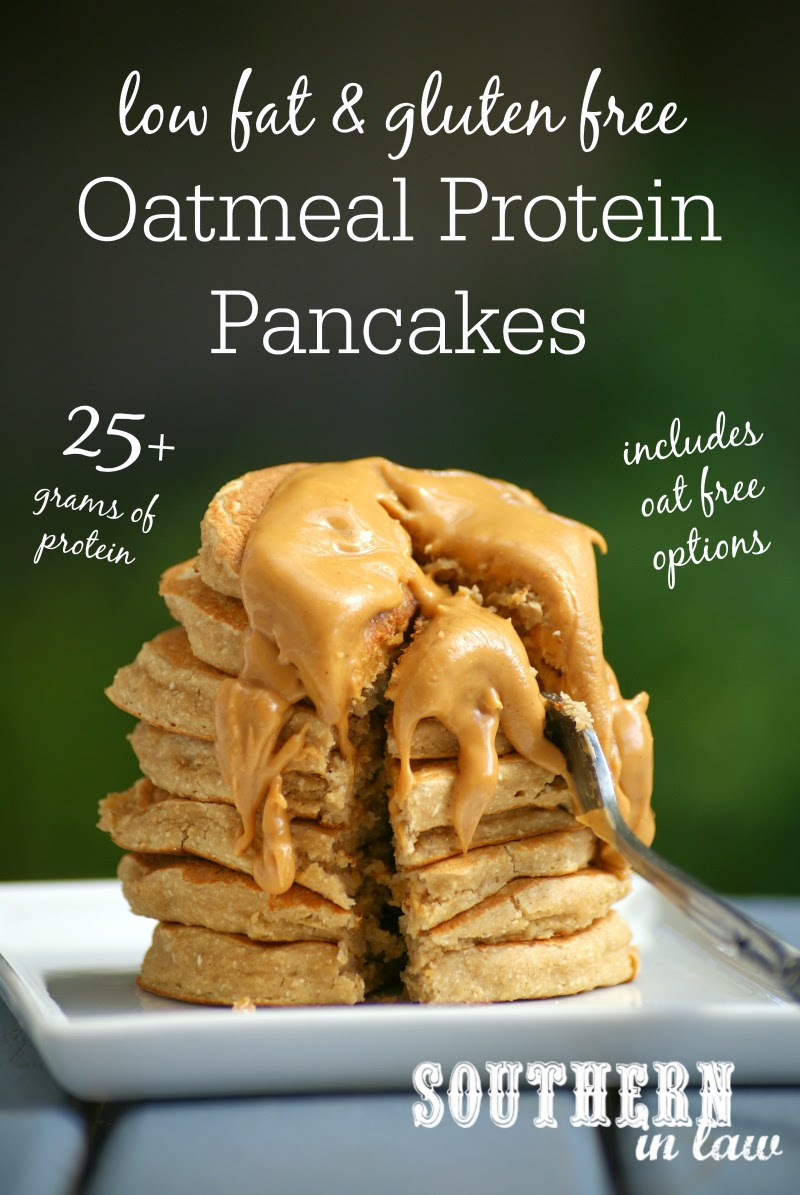 Single Serve Oatmeal Protein Pancakes Recipe | low fat, gluten free, healthy, high protein, sugar free, clean eating recipe