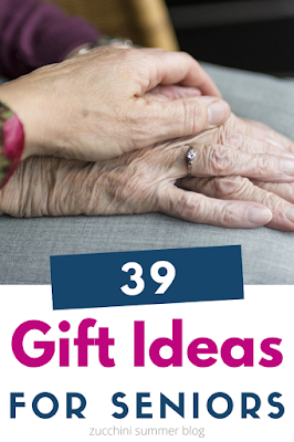 Not sure what to get your grandparents? Here are over 30 gift ideas perfect for seniors living on their own, in assisted living, or in nursing homes.