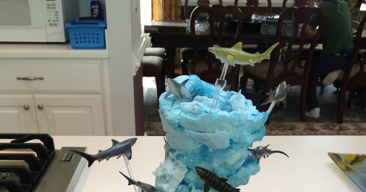 Tk Peggy Sharknado Cookie Cake Medium