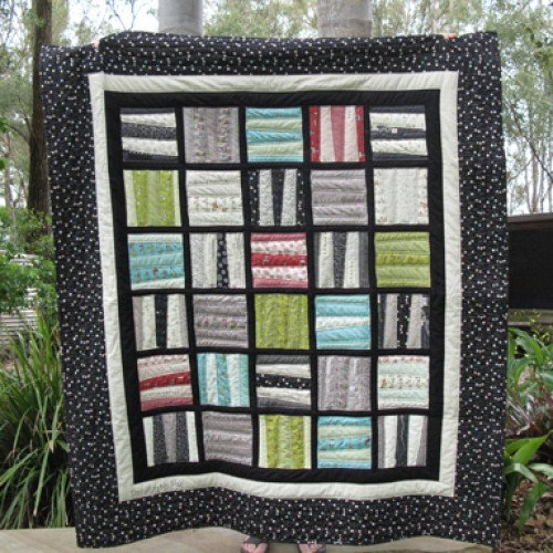 Happy and Scrappy Blocks Quilt - Tutorial