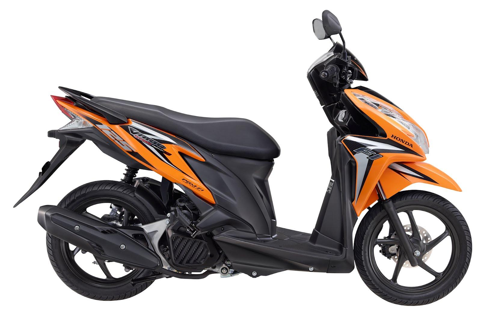 Spesifikasi Sepeda Motor Injeksi Honda Vario Techno 125