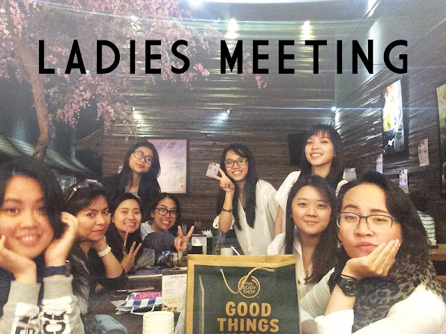 Our Very First Ladies Meeting
