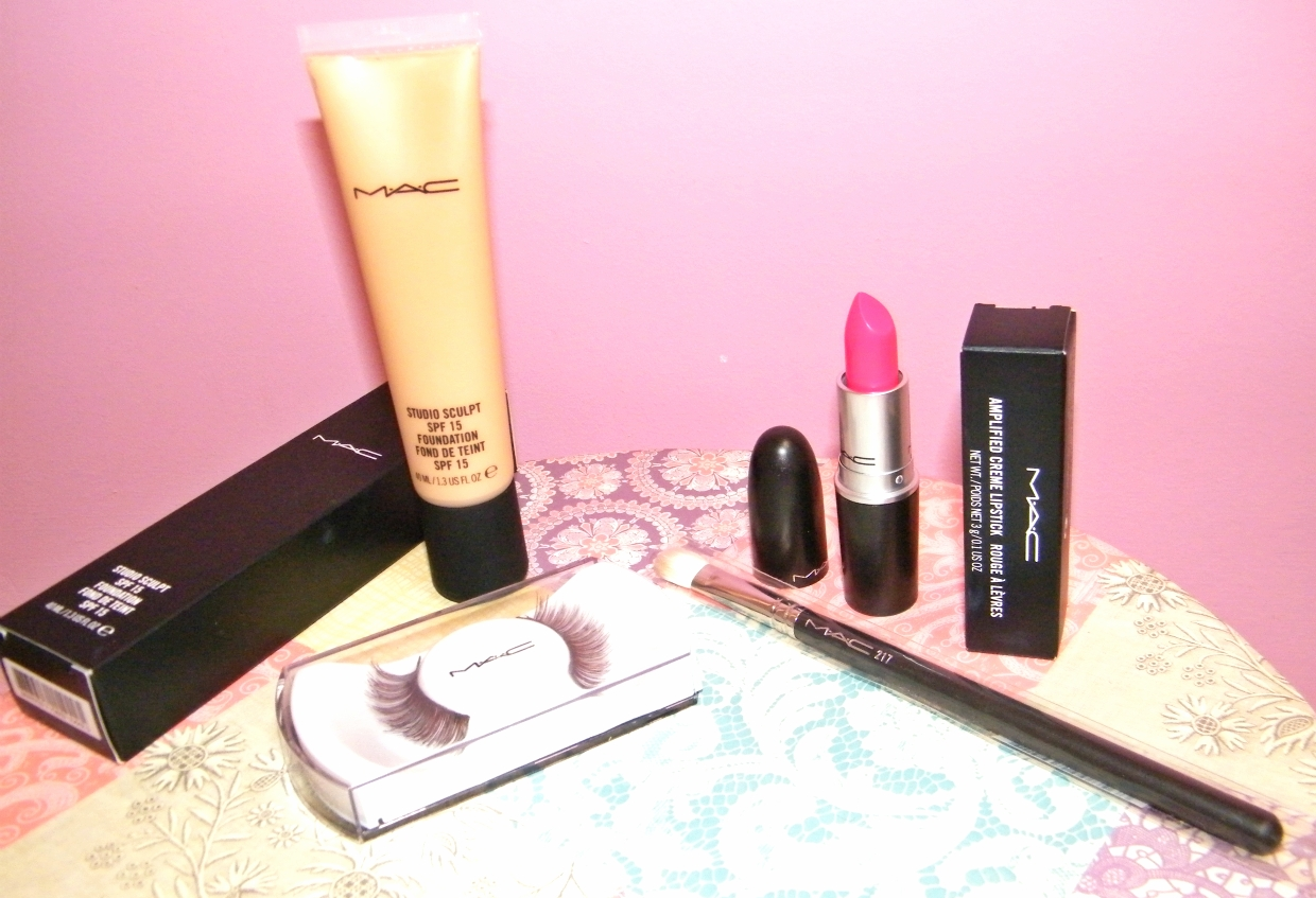 MAC Studio Sculpt, Lashes and Impassioned Lipstick