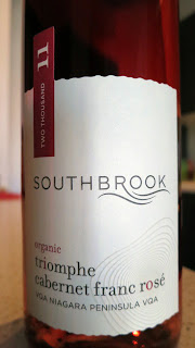 Label photo of 2011 Southbrook Triomphe Organic Cabernet Franc Rosé