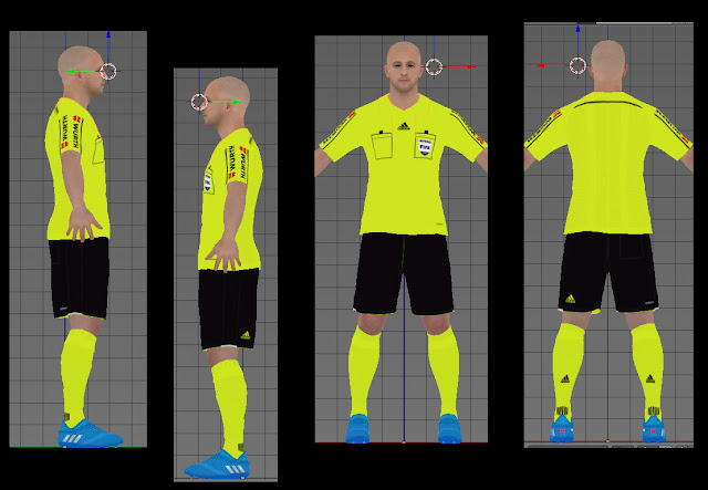 PES 2017 LaLiga Referee Kit Season 2016-17 By Geo_Craig90