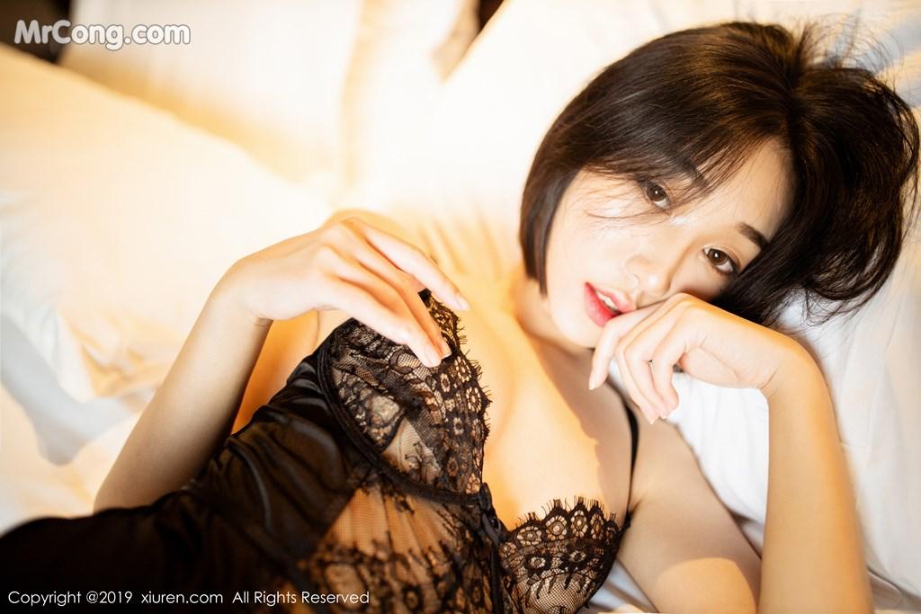 Image XIUREN-No.1670-Xiao-Jiu-Yue-MrCong.com-013 in post XIUREN No.1670: Xiao Jiu Yue (小九月) (52 ảnh)