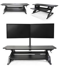 Systematix Volante Heavy Duty Sit-Stand Workstation