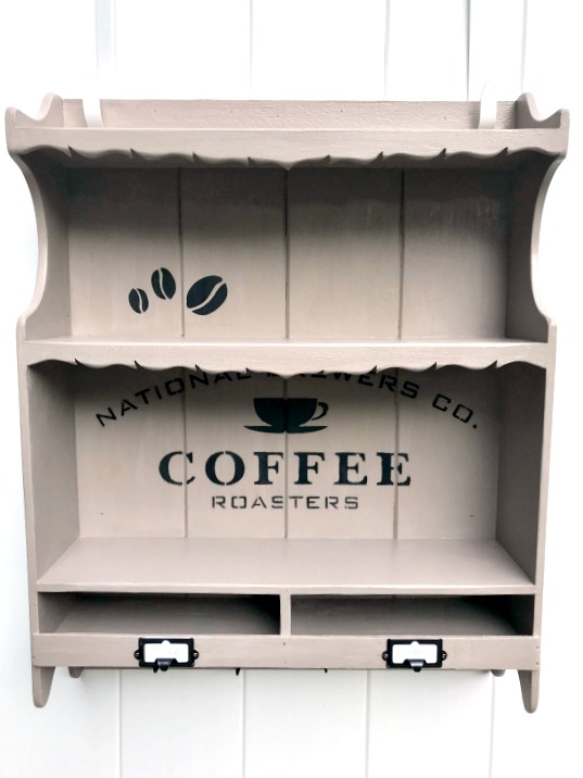 DIY Hanging Coffee Bar