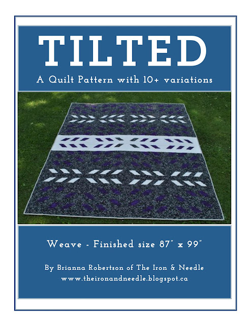 "Introducing the ""Tilted"" Quilt Pattern"