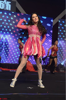 Sunny Leone Dancing on stage At Rogue Movie Audio Music Launch ~  046.JPG