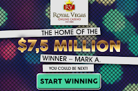 Jackpot Winner at Royal Vegas Casino