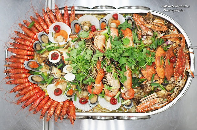 Jumbo Seafood Platter RM 488  MEDIUM Serving For 6 - 10 pax