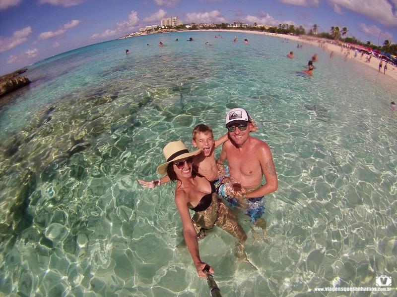 Praia em St. Maarten