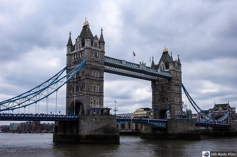 Tower Bridge - O que fazer em Londres: 48 atrações imperdíveis