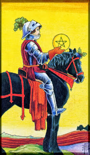 knight of pentacles Universal Rider Waite Tarot