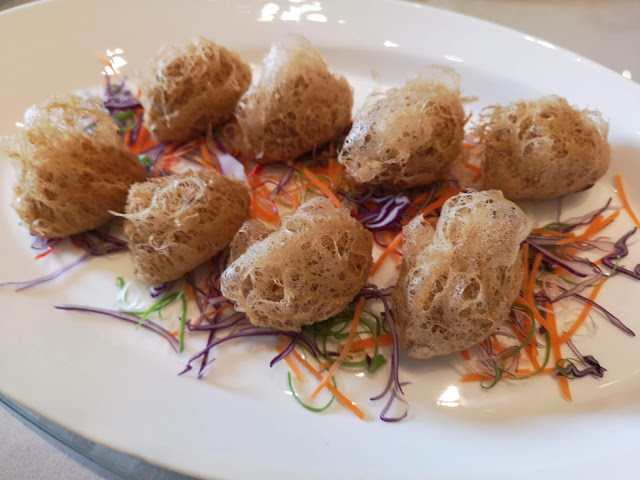 Deep-Fried Taro stuffed with Wild Mushrooms and Truffles