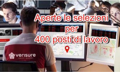 adessolavoro.blogspot.com - Verisure offerte lavoro -