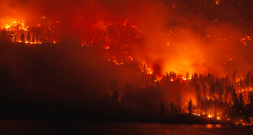 Está el cambio climático avivando los mega fuegos