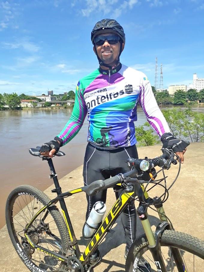 PEDALANDO POR URBANIDADE: Deputado eleito percorrerá mais de 370 quilômetros de bicicleta para participar de sua posse