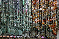 Burmese jade chains and necklaces