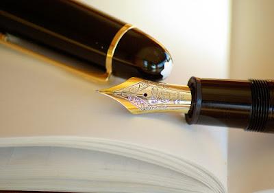 fancy fountain pen