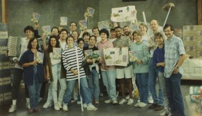 El Equipo de LucasArts en el Día de Ron Gilbert, 1990