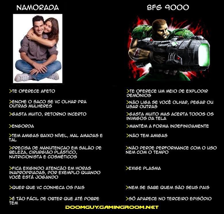 Namorada vs. BFG 9000
