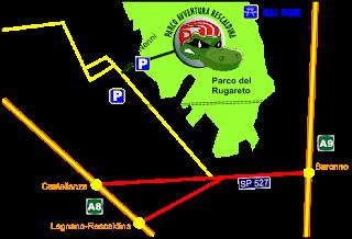 Come Raggiungere il Parco Avventura Rescaldina