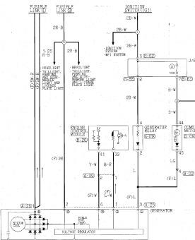 Wiring Diagram 1995 Mitsubishi Eclipse, Wiring, Free