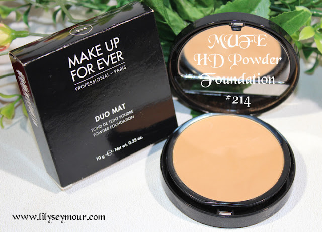 MUFE Duo Mat HD Powder Foundation