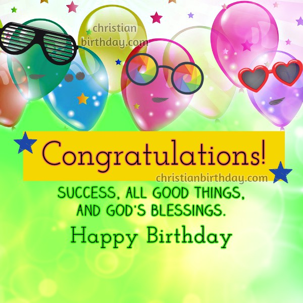 Congratulations Quotes Happy Birthday Christian